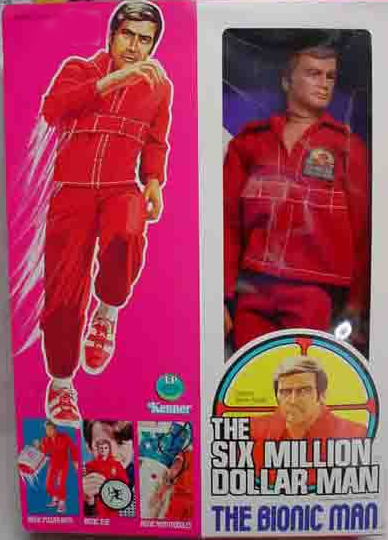 SIX MILLION DOLLAR MAN FIGURES CASES THIS SALE IS FOR ACRYLIC CASES ONLY NO TOYS