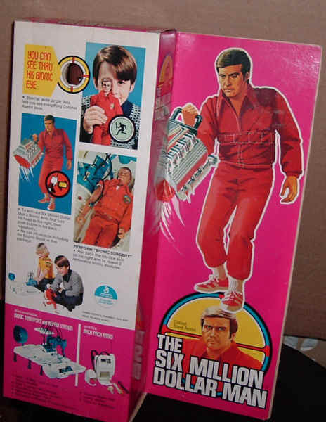 Genome Russian Bionic man toys