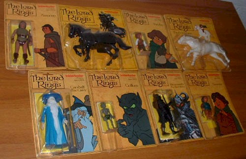 Toys You Had Presents Lord of the Rings